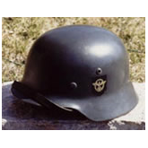 GERMAN WORLD WAR 2 FIELD POLICE HELMET